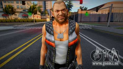Dead Or Alive 5 - Bass Armstrong (Costume 1) 4 pour GTA San Andreas