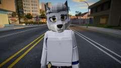 Roblox Detective Wolf (JohnnySilverPaw) pour GTA San Andreas