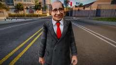Dead Or Alive 5 - Train Man 1 pour GTA San Andreas