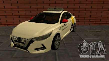 Nissan Sylphy Yandex Go Taxi für GTA San Andreas