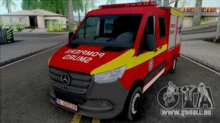 Mercedes-Benz Sprinter 2020 Pompierii SMURD pour GTA San Andreas