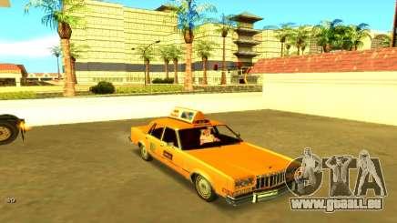 Dodge Diplomat 1987 Taxi für GTA San Andreas