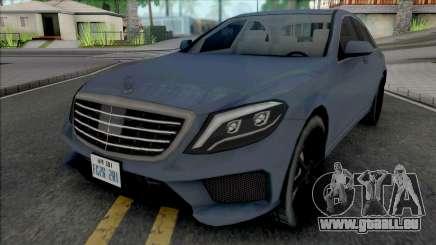 Mercedes-Benz S63 AMG 2014 Japan SA Style v2 pour GTA San Andreas