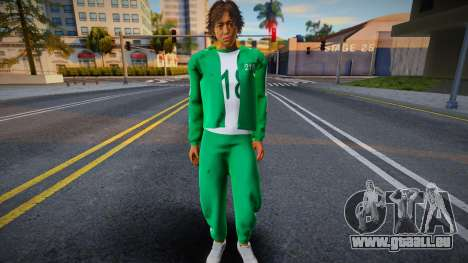 Squid Game Male Player pour GTA San Andreas
