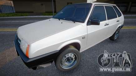 VAZ 2109 (Blanc) pour GTA San Andreas