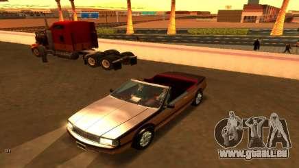 Cadillac Allanté Cabriolet 1990 (Aktualisiert) für GTA San Andreas