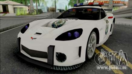 Chevrolet Corvette C6 RPD (NFS Most Wanted) für GTA San Andreas