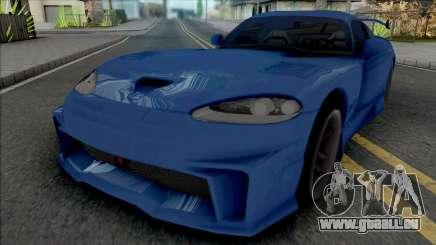 Dodge Viper GTS (MRT) für GTA San Andreas
