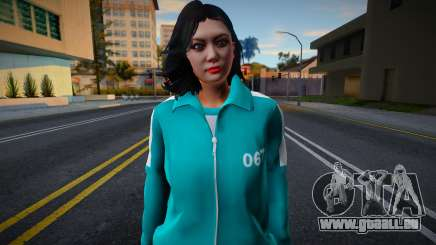 Female Asian Tracksuit 067 Squid Game pour GTA San Andreas